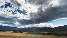 Около Ouray, Колорадо Стоковое Фото