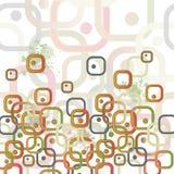 округленные прямоугольники карточки Стоковая Фотография RF