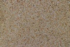 Округленный камешек облицовывает цемент Стоковая Фотография