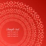 Округленный орнамент ягоды Стоковое Фото