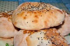 Округленный хлеб Стоковые Фотографии RF