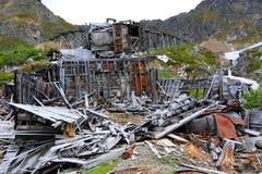 Окружающая среда Аляски принимала свою пошлину стоковые изображения rf