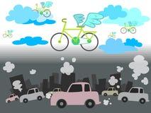Окружающая среда велосипеда Стоковые Фото