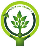 окружающая среда защищает Стоковое фото RF