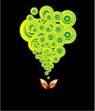 окружающая среда карточки идет зеленый цвет Стоковая Фотография