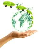 окружающая среда принципиальной схемы защищает Стоковое Изображение