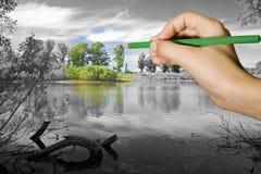 окружающая среда Стоковые Изображения