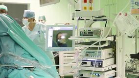Окружающая среда больницы сток-видео