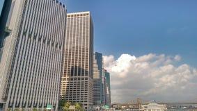 Окружающие облака Стоковые Фото