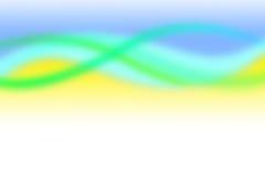 окружающий желтый цвет нерезкости Стоковое Фото