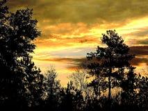 Окруженный восход солнца Стоковые Фотографии RF
