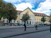 Окружной суд Цюриха, Швейцарии Стоковая Фотография