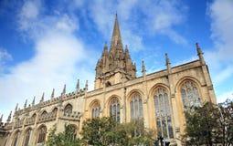 Оксфордский университет церков Стоковые Изображения