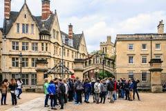 Оксфорд, Оксфордшир, Англия Стоковая Фотография
