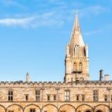 Оксфордский университет церков Христоса Стоковая Фотография