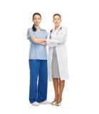 2 доктора в форме Стоковая Фотография