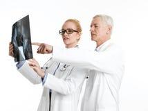 доктора консультации изолировали медицинские серии Стоковое фото RF
