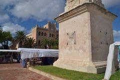 Октябрь 2017, Ciutadella, Minorca Солнечный день в одном из Балеарских островов Стоковое Изображение