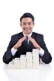 Окупаемости инвестиций интерес и страхование Стоковое Изображение