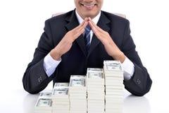 Окупаемости инвестиций интерес и страхование Стоковое Изображение RF