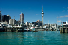 Окленд - город ветрил Стоковое Изображение RF