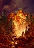 олени каньона Стоковые Изображения RF