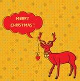 олени рождества карточки бесплатная иллюстрация