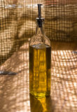 оливка масла бутылки Стоковые Фото
