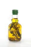 оливка масла бутылки Стоковое Изображение