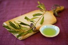 оливка масла Стоковое Изображение RF