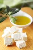 оливка масла feta Стоковые Фото