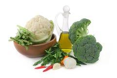 оливка масла spices овощи Стоковое Изображение
