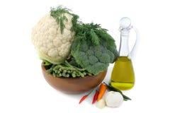 оливка масла spices овощи Стоковые Изображения RF