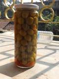 Оливка необходима в блюде стоковое изображение