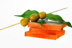 оливки хлеба Стоковое Изображение RF