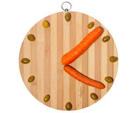 оливки часов морковей Стоковое фото RF