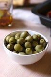 оливки шара зеленые Стоковая Фотография