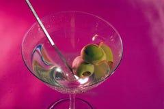 оливки martini Стоковые Изображения