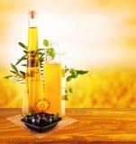 Оливкового масла жизнь все еще Стоковые Изображения RF