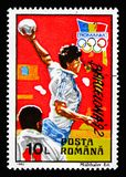 Олимпиады лета, Барселона 1992, serie, около 1992 стоковое изображение rf