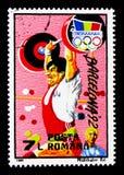 Олимпиады лета, Барселона 1992, serie Олимпийских Игр, около 1992 стоковое фото rf