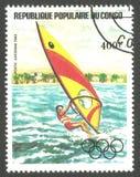 Олимпийские символы, Олимпийские Игры, спорт Стоковые Фото