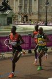 Олимпийский марафон 2012 Стоковые Фотографии RF