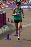 Олимпийский марафон 2012 Стоковые Изображения