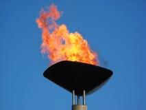 олимпийский факел Стоковая Фотография