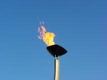 олимпийский факел Стоковое Изображение