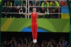 Олимпийское гимнастическое Стоковое Изображение RF