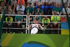 Олимпийское гимнастическое Стоковое Изображение