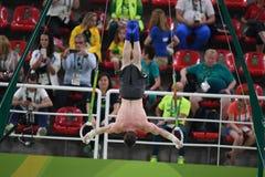 Олимпийское гимнастическое Стоковые Фотографии RF