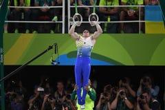 Олимпийское гимнастическое Стоковая Фотография